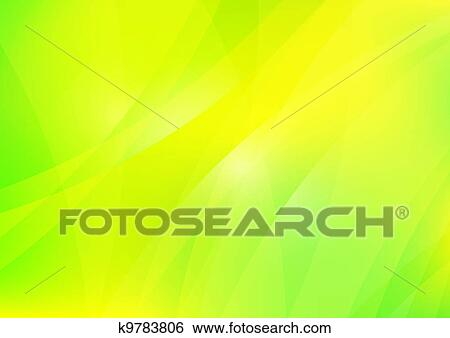 Abstract Green And Yellow Background Wallpaper Stock