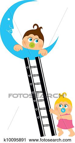 Clipart Of Baby Shower Greeting Card K10095891 Search Clip Art