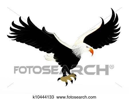 Bald Eagle Soaring Icon