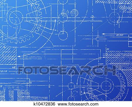 Clip art of blueprint k10472836 search clipart illustration clip art blueprint fotosearch search clipart illustration posters drawings and malvernweather Image collections