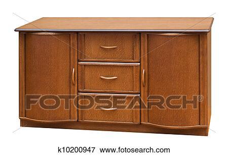 Banque d illustrations bois vieux stile bureau isolé blanc