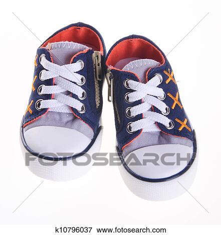 Sur Chaussures Plan K10796037 Image Gosse Arrière ZfEWW