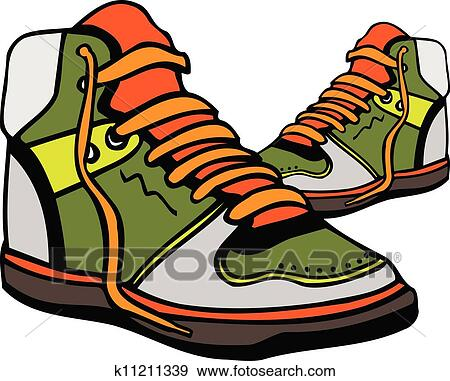 Clipart Chaussures De Sport
