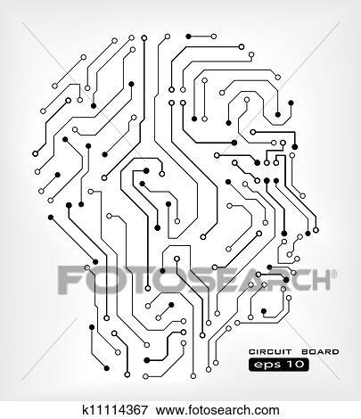 Circuit Art Drawings - Wiring Diagram Services •