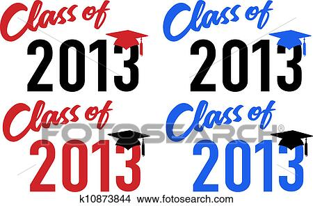 clipart of class of 2013 school graduation date cap k10873844 rh fotosearch com Thanksgiving Day Clip Art 2014 Graduation Clip Art