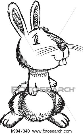 Easter Bunny Rabbit Clip Art Rabbit Clipart Black And White Image Provided  - EpiCentro Festival