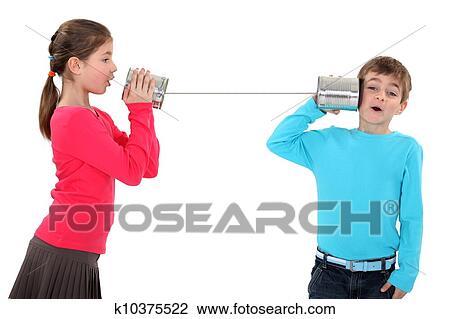 Dosentelefon Stock Bild | k10375522 | Fotosearch
