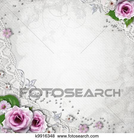 Elegance Wedding Background Stock Illustration K9916348