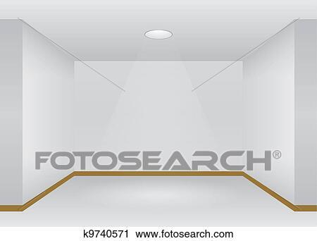 . Empty Room Clipart