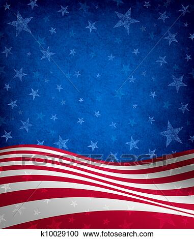 Stock Photography Of Fourth Of July Background K10029100 Search