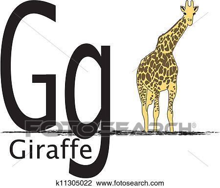 Clipart G Est Pour Girafe K11305022 Recherchez Des Clip Arts
