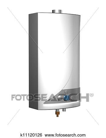 Stock Illustration of Gas boiler k11120126 - Search Clip Art ...