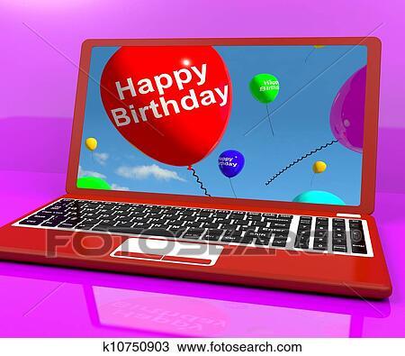 verjaardag man computer
