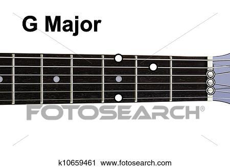 Clipart of Guitar Chords Diagrams - G Major. Guitar chords diagrams ...