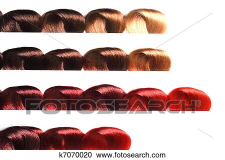Samples Of Diffe Colors Stock Image