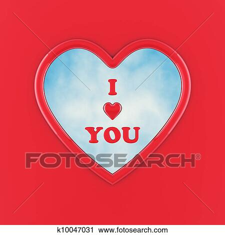 Clipart Of Happy Valentine S Day I Love You K10047031 Search