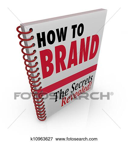 How To Brand Book Advice Guide Consultant Stock Illustration K10963627 Fotosearch