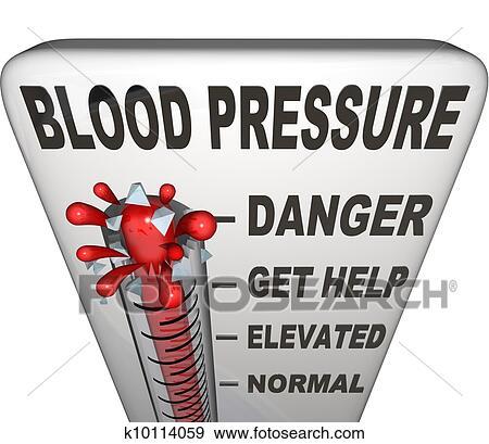 Ipertensione, pressione sanguigna, elevato, pericoloso..
