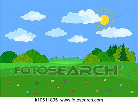 Summer Day Clip Art