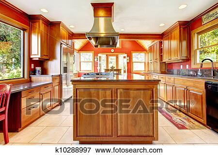 luxury kitchen sink picture of large luxury kitchen with wood and tiles 3920
