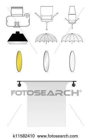 stock illustrations of lighting diagram icons k11582410 search rh fotosearch com Light Bulb Icon Light Bulb Icon