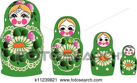 Hand Painted Illustrations Of Cute Russian Dolls, Image, Russia, Russian  Doll PNG Transparent Clipart Image and PSD File for Free Download
