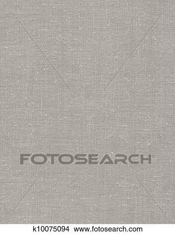 stock photo of natural vintage linen burlap textured fabric texture