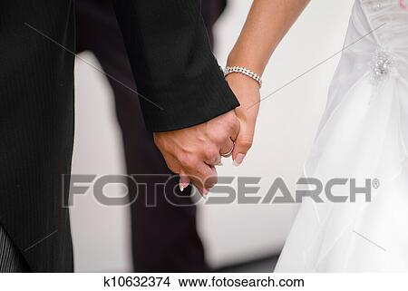 Newly Wedded Lovers Picture | k10632374 | Fotosearch