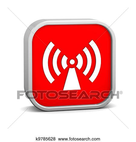Stock Illustration Of Non Ionizing Radiation Sign K9785628 Search