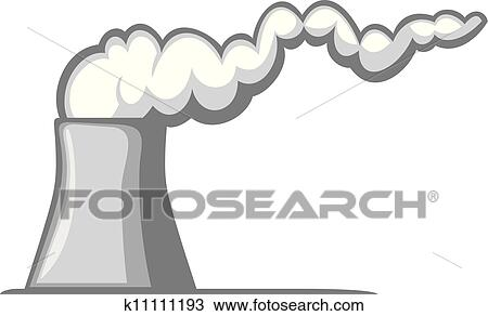 clipart of nuclear power plant k11111193 search clip art rh fotosearch com power plant clipart 3d power plant clip art free