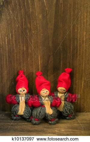 Old Fashioned Christmas Decorations Stock Photo K10137097 Fotosearch