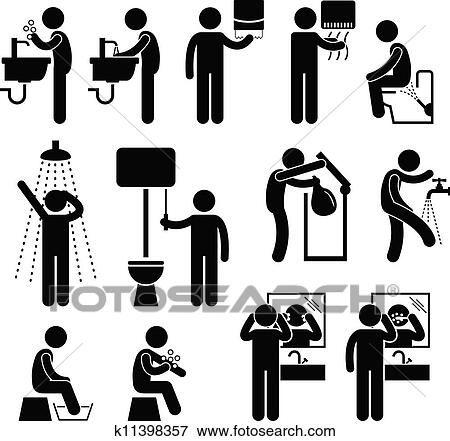 clip art of personal hygiene in toilet k11398357 search hand washing clip art paper towels hand washing clip art black and white