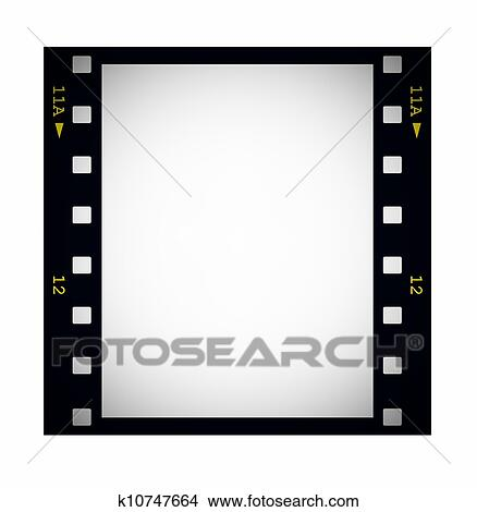 Drawings of photo with blank film strip frame k10747664 - Search ...