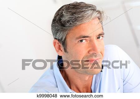 Portrait Of Handsome 40 Year Old Man