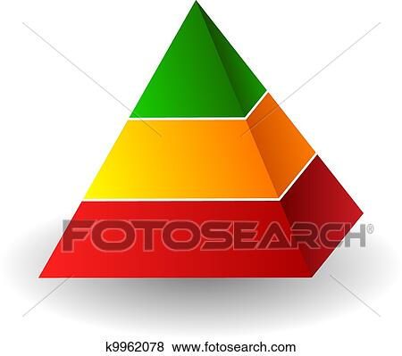 clip art of pyramid illustration k9962078 search clipart rh fotosearch com pyramid clipart with six layers pyramids clipart silhouette