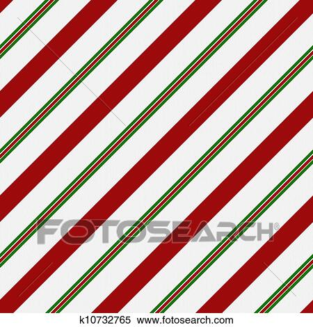Red Green And White Striped Fabric Background That Is Seamless Repeats