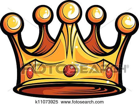 Clipart redevance ou rois couronne dessin anim - Clipart couronne ...