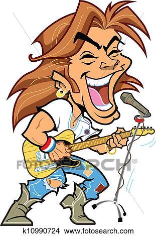 clipart of rock star k10990724 search clip art illustration rh fotosearch com free rockstar clipart rock star clipart images