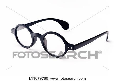 Round glasses clipart