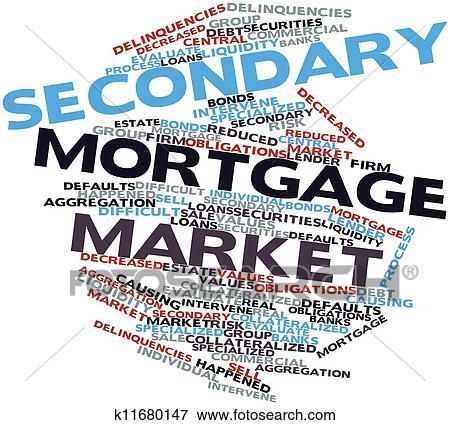 Secondary mortgage market Stock Illustration | k11680147 ...