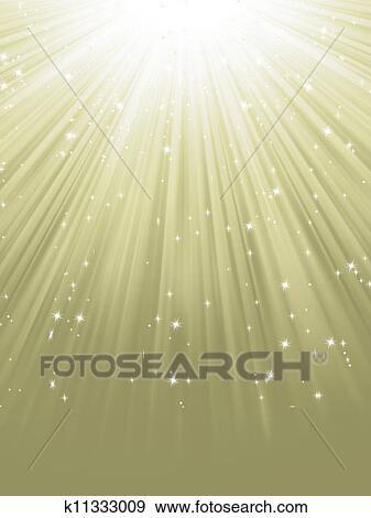 Path of Light Clip Art