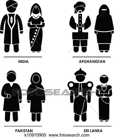 Asian clothing clip art pics 125