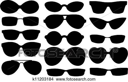 Sunglasses Clipart K11203184 Fotosearch
