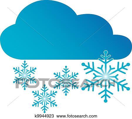 Clipart Symbol Schnee K9944923 Suche Clip Art Illustration