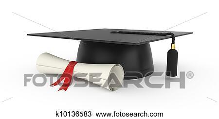 Dibujo Tapa Graduación K10136583 Buscar Clip Art Ilustraciones