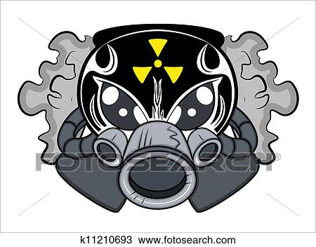 Clipart Of Toxic Mascot Tattoo Vector K11210693 Search Clip Art