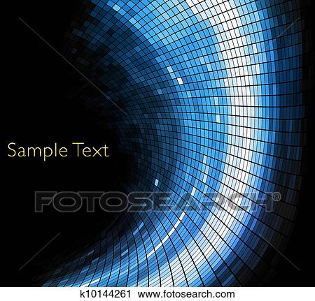 Vector Geometric Tech Background. Vector Creative Background. Eps10