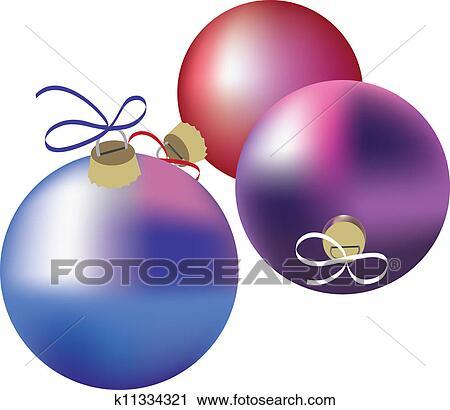 weihnachten kugeln clipart k11334321 fotosearch. Black Bedroom Furniture Sets. Home Design Ideas