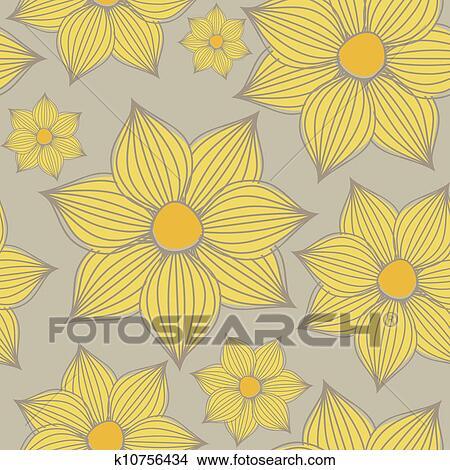 yellow flowers background clipart k10756434 fotosearch https www fotosearch com csp990 k10756434