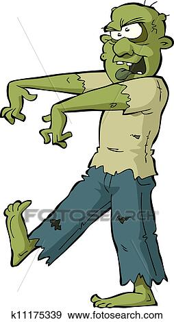 clip art of zombie k11175339 search clipart illustration posters rh fotosearch com clip art zombie gif clipart zombie horse